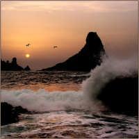 LA bellezza dei faraglioni di Acitrezza in un mattino invernale  - Aci trezza (30805 clic)