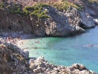 Prima caletta dal golfo di castellamare  - Riserva dello zingaro (10102 clic)