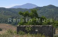 Casa diroccata all'ingresso di Floresta, con veduta sull'Etna  - Floresta (6590 clic)