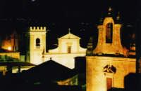 Chiesa della Trinità e Chiesa Madre viste di notte ! ! !   - Monforte san giorgio (6080 clic)