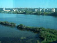 Paesaggio visto dal treno Siracusa - Messina. Saline di Augusta  - Siracusa (4117 clic)