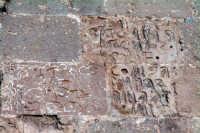 Tracce di segni dietro il Monumento ai Caduti.  - Comiso (2396 clic)