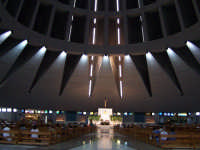 Interno del Santuario della Madonna delle Lacrime.  - Siracusa (2227 clic)