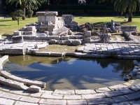 Vista del Ginnasio Romano risalente alla seconda metà del I secolo d.C.  - Siracusa (3757 clic)