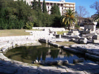 Vista del Ginnasio Romano risalente alla seconda meta' del I secolo d.C.  - Siracusa (4729 clic)