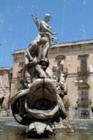 Particolare della Fontana Diana in Piazza Archimede in Ortigia.  - Siracusa (1411 clic)
