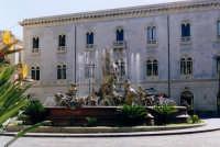 Piazza Archimede. La Fontana Diana e nello sfondo Il Palazzo Gargallo.  - Siracusa (4156 clic)