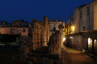 Notturno al Tempio di Apollo in Ortigia a Siracusa  - Siracusa (2671 clic)