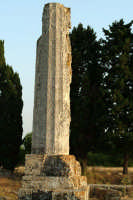 Tempio di Giove detto (le due colonne). E' una costruzione risalente al VI sec. a.C.  - Siracusa (2291 clic)