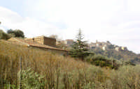 Villa Barone con San Salvatore sullo sfondo   - San salvatore di fitalia (4376 clic)
