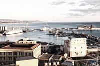 Veduta del porto di Porto Empedocle (522 clic)