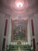 Ragusa Ibla. Interno della Cattedrale. L'altare del Patrono san Giorgio martire.  - Ragusa (1597 clic)