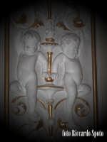 Ragusa Ibla. Interno della Cattedrale. decorazioni barocche. RAGUSA Riccardo Spoto