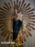 Ragusa Ibla. Interno della Cattedrale. Simulacro della Madonna del Rosario RAGUSA Riccardo Spoto