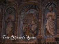 Cattedrale cappella di S Agata. Antonello De Freri, trittico marmoreo della gloria di S Agata, sull'altare della cappella.   - Catania (2505 clic)