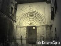 Ragua Ibla.  Portale gotico dell'antica cattedrale di San Giorgio.  - Ragusa (1563 clic)