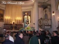Festa della Madre di Dio Immacolata. 8 Dicembre 2006. L'immacolata presso l'altare maggiore.  - Santa maria di licodia (2073 clic)