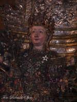 Ottava di Sant'Agata. Il busto reliquiario della Martire Patrona di Catania, esposto sull'altare maggiore del duomo.  - Catania (2333 clic)