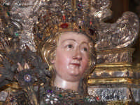 Ottava di Sant'Agata. Il volto sereno e sorridente di Sant'Agata, guarda verso i suoi fedeli e devoti che a Lei ricorrono fiduciosi.  - Catania (3808 clic)