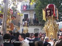 festa patronale di Santa Barbara, le varette in piazza sant'antonio.  - Paternò (6834 clic)