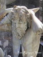 Piazza Duomo particolare della fontana dell'Amenano  - Catania (2249 clic)