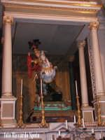 Modica Alta. Il simulacro di San Giorgio martire, patrono di Modica, all'interno della chiesa omonima.  - Modica (2176 clic)