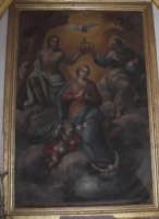 Santa Maria di Licodia, Chiesa Madre. Artistica tela settecentesca raffugurante l'Immacolata  - Santa maria di licodia (1625 clic)