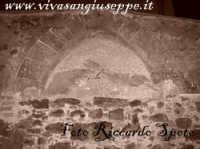 Piazza Umberto I, ex chiostro dei Benedettini,  l'arco gotico della ex cappella di S Leone.  - Santa maria di licodia (3749 clic)