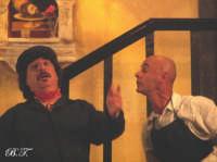 La Brigata Teatrale di Santa Maria di Licodia presenta; Miracolo, commedia brillante in due atti, riadattamento in chiave farsesca del S. Giovanni decollato di Martoglio. Marzo 2007, cine-teatro S. Giuseppe, Santa Maria di Licodia. (foto scattata da Stefano Mirone)  - Santa maria di licodia (1202 clic)