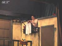 La Brigata Teatrale di Santa Maria di Licodia presenta; Miracolo, commedia brillante in due atti, riadattamento in chiave farsesca del S. Giovanni decollato di Martoglio. Marzo 2007, cine-teatro S. Giuseppe, Santa Maria di Licodia. (foto scattata da Stefano Mirone)  - Santa maria di licodia (2007 clic)
