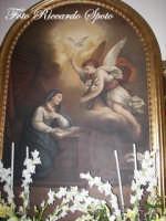 festa della Patrona Maria SS Annunziata.Tela nel Santuario della SS Annunziata.  - Pedara (7250 clic)