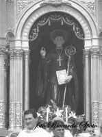Festa di San Placido, Ottobre 2006. il Simulacro di San Placido.  - Biancavilla (3313 clic)