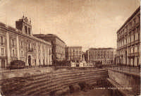 Piazza Stesicoro, gli scavi dell'anfiteatro negli anni '30 del 900  - Catania (3502 clic)