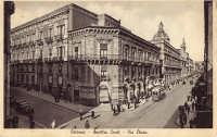 I quattro canti e via Etnea, negli anni '30 del '900  - Catania (5374 clic)