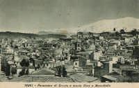 Panorama di Bronte con l'Etna, anni '40  - Bronte (5815 clic)