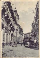 Bronte, Corso Umberto I, anni '40  - Bronte (4701 clic)