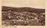 Maletto visto dal Castello, anni '40  - Maletto (5115 clic)