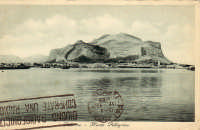 Palermo,il Monte Pellegrino, anni '30  - Palermo (3344 clic)