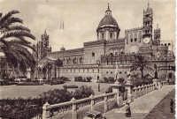 Palermo,la Cattedrale, anni '50  - Palermo (4624 clic)