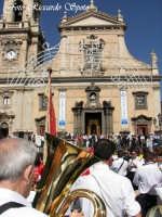 Feste Patronali. Usicta e processione del Fercolo del Patrono San Placido Martire. 5 Ottobre 2007  - Biancavilla (1648 clic)