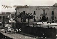 Il Palazzo Municipale negli anni '50.  - Santa maria di licodia (6528 clic)