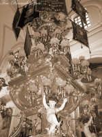 La festa di Sant'Agata. Le candelore. La candelora dei bettolieri all'interno della chiesa di Sant'Agata la vetere.  - Catania (2491 clic)