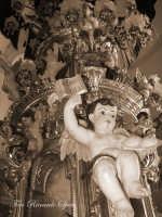 La festa di Sant'Agata. Le candelore. La candelora dei macellai de Chiancheri  - Catania (1924 clic)