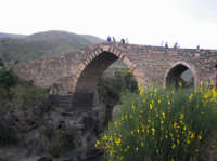 Il Ponte dei Saraceni, splendido esempio di architettura medioevale  - Adrano (3147 clic)