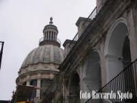 Ragusa Ibla. La cupola del duomo di Sam Giorgio. RAGUSA Riccardo Spoto