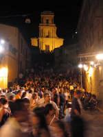 Prima dello spettacolo di P.zza Toselli - Medfest 2006  - Buccheri (2716 clic)