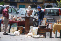 Palermo Piazza Marine Mercatino dell'antiquariato PALERMO stefania verderosa