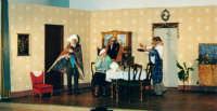 Momento saliente di Natale in casa Cupiello di E. De Filippo, a cura della Nuova Compagnia Teatrale il canovaccio  - Leonforte (2710 clic)