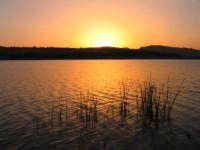 L'alba della Diga Nicoletti  - Leonforte (4674 clic)