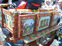 Particolare di un Carretto Siciliano durante la festa di Sant'Alfio  - Trecastagni (2119 clic)